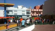 Cierre del parque infantil Mariano de Cáceres
