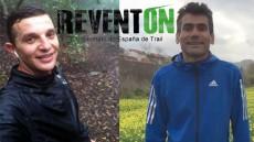 160408 Matías y Javier en el Reventón Trail La Palma 2016
