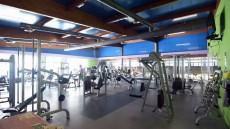 Sala de musculación de Los Cascajos