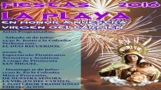 Cartel fiestas del Carmen