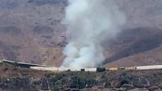 Conato de incendio en el vertedero agrícola de Las Tabladas