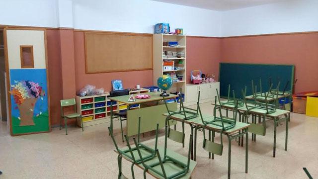 Obras en colegios