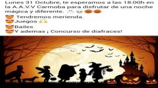 AVV Carmoba - fiesta Halloween