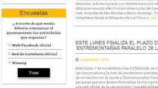 Encuesta de Participación Ciudadana - Medio por el que informar