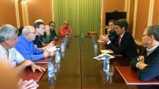 El Foro se reúne con el delegado del Gobierno - Carretera