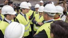 El Cabildo asiste a la visita de las obras de la carretera La Aldea