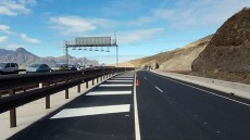 Tramo carretera nueva
