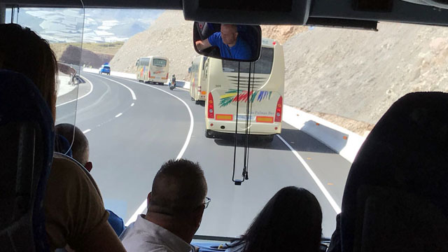 Inauguración 1ª fase carretera La Aldea