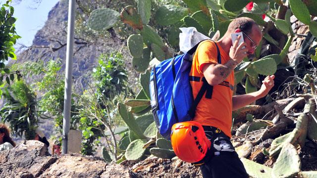 Protección Civil en La Rama de El Valle de Agaete