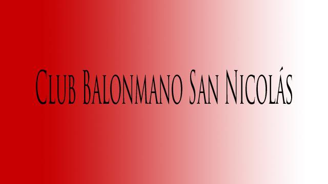 Club Balonmano San Nicolás