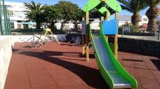 Reapertura parque infantil La Playa