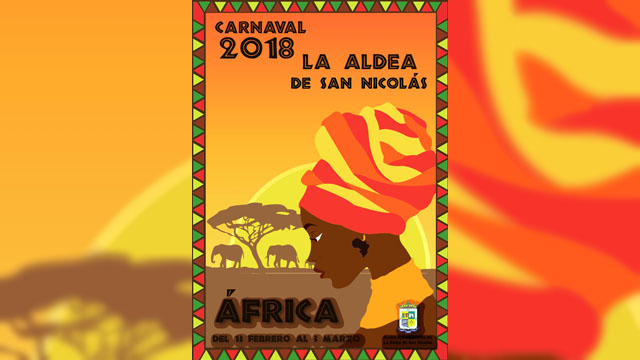 Cartel Carnaval 2018 - África