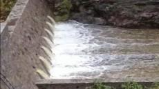 Entrada agua las presas