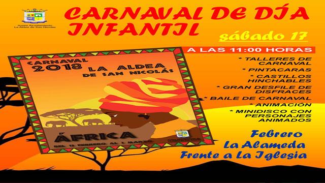 Cartel carnaval infantil