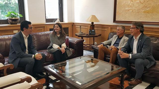 Reunión Gobierno de Canarias