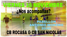 181116 BM Rocasa - CB San Nicolás