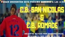 Cartel CB San Nicolás - CB Romade