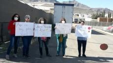Protesta vecinas ante malos olores residuos agrícolas