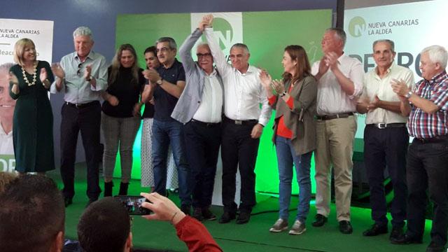 Pedro Suárez (NC), candidato a la Alcaldía