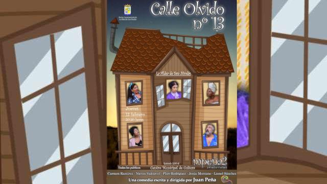 Cartel Calle Olvido