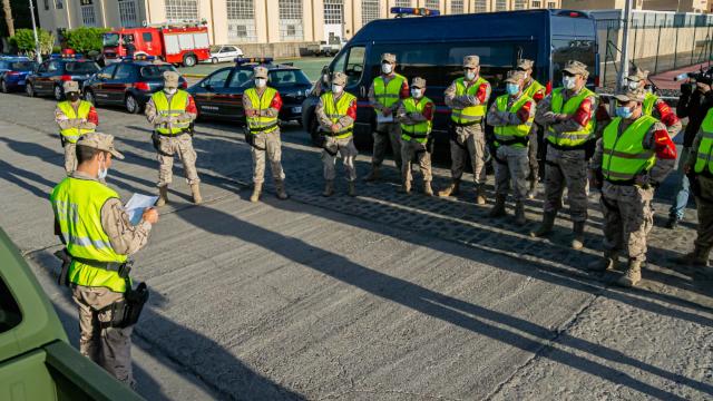 Infantería de Marina - Operación Balmis