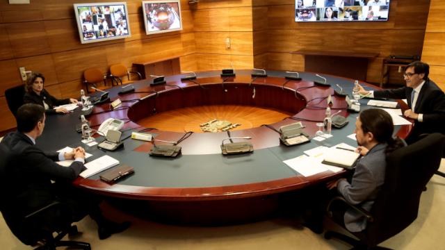 Consejo de Ministros (Fotos: Pool Moncloa/JM Cuadrado)