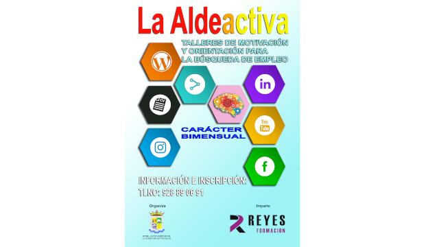 Cartel La Aldea Activa
