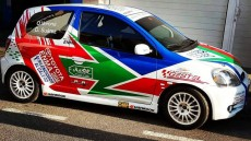 Motor - Dónovan Suárez copilota Toyota Yaris TS Sport