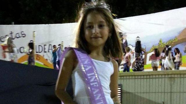 Reina Infantil 2015 Atenea