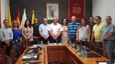 Toma posesión concejal José Miguel Valencia