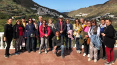 Visita al municipio de Agaete