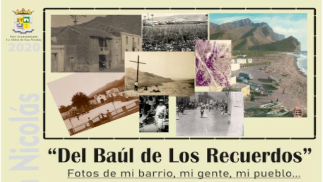 Cartel Baúl en tu recuerdo