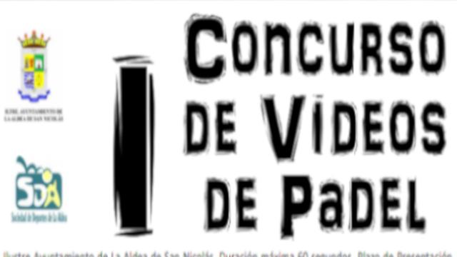 I Concurso de Vídeos de Pádel