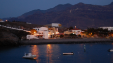 Vista nocturna La Playa